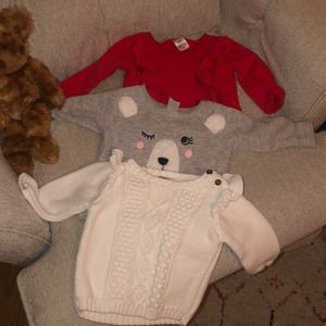 6 month Christmas Carter's bundle